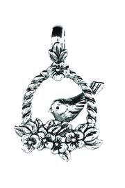 Beaucoup Designs Nesting Bird Charm - Front cropped