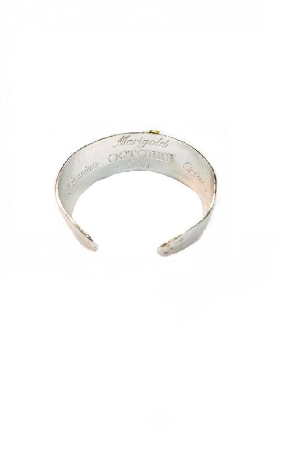 Beaucoup Designs October Cuff Bracelet - Front Full Image