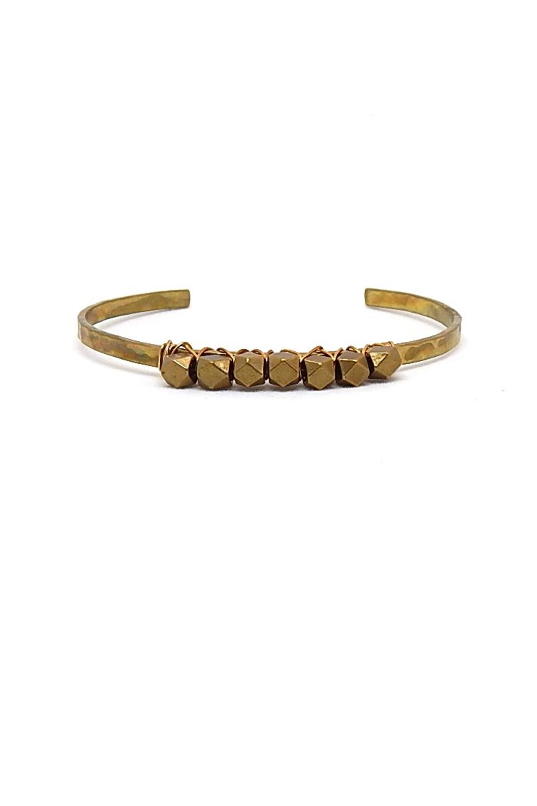 Beaucoup Designs Parker Bracelet Cuff - Front Full Image