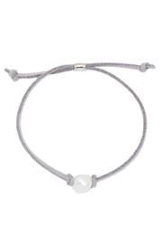 Beaucoup Designs Pearl Leather Bracelet - Product Mini Image
