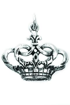 Beaucoup Designs Silver Crown Charm - Alternate List Image