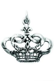 Beaucoup Designs Silver Crown Charm - Product Mini Image