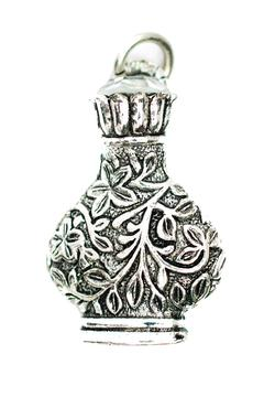 Beaucoup Designs Silver Perfume Charm - Alternate List Image