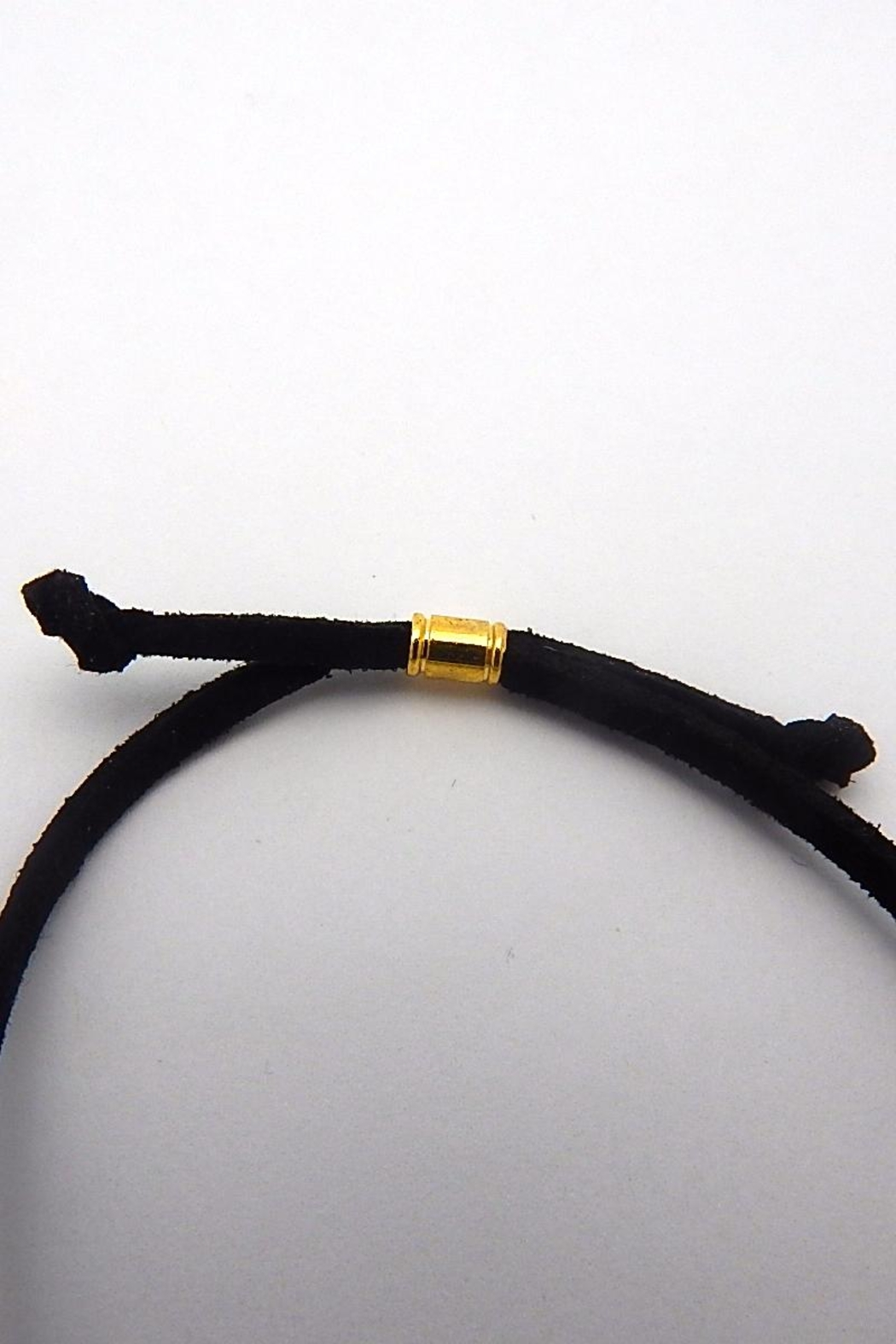 Beaucoup Designs Tax Leather Bracelet - Side Cropped Image