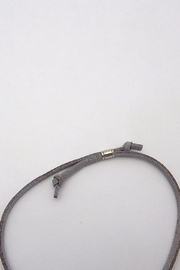 Beaucoup Designs Tax Leather Bracelet - Side cropped