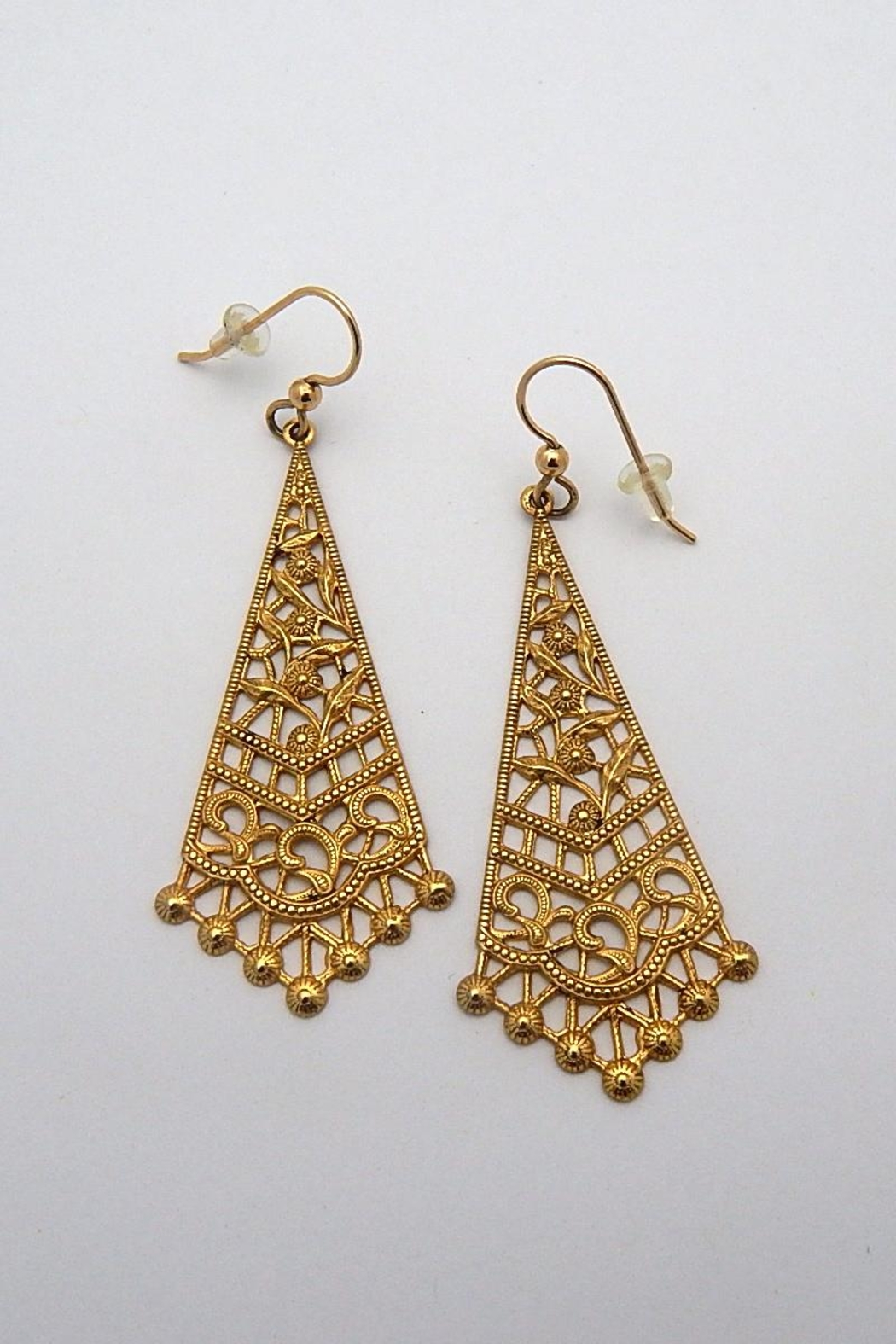 Beaucoup Designs Teragram Filigree Earrings - Main Image