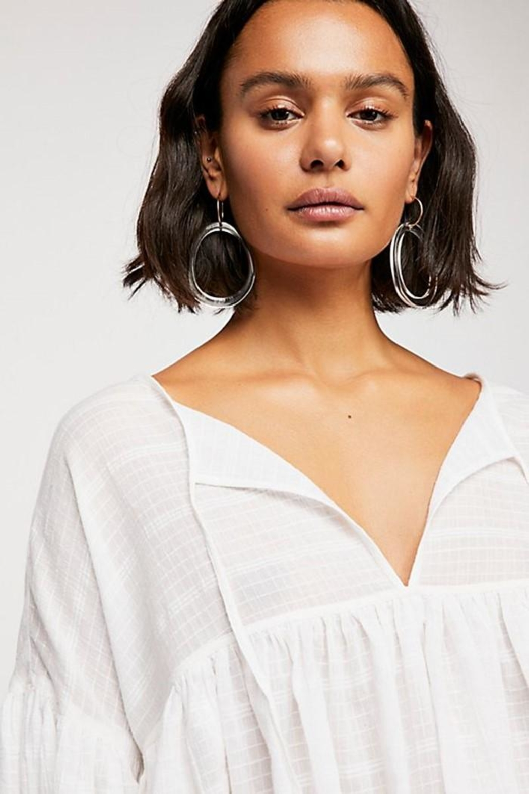Free People Beaumont Mews Blouse - Side Cropped Image