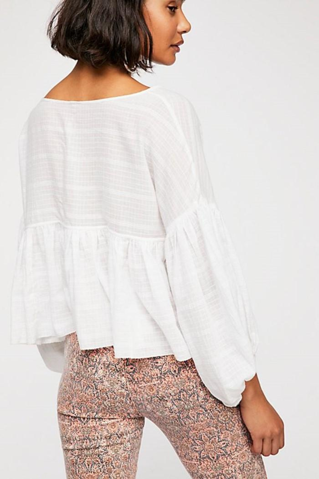 Free People Beaumont Mews Blouse - Front Full Image