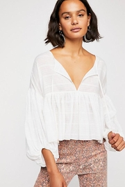 Free People Beaumont Mews Blouse - Product Mini Image