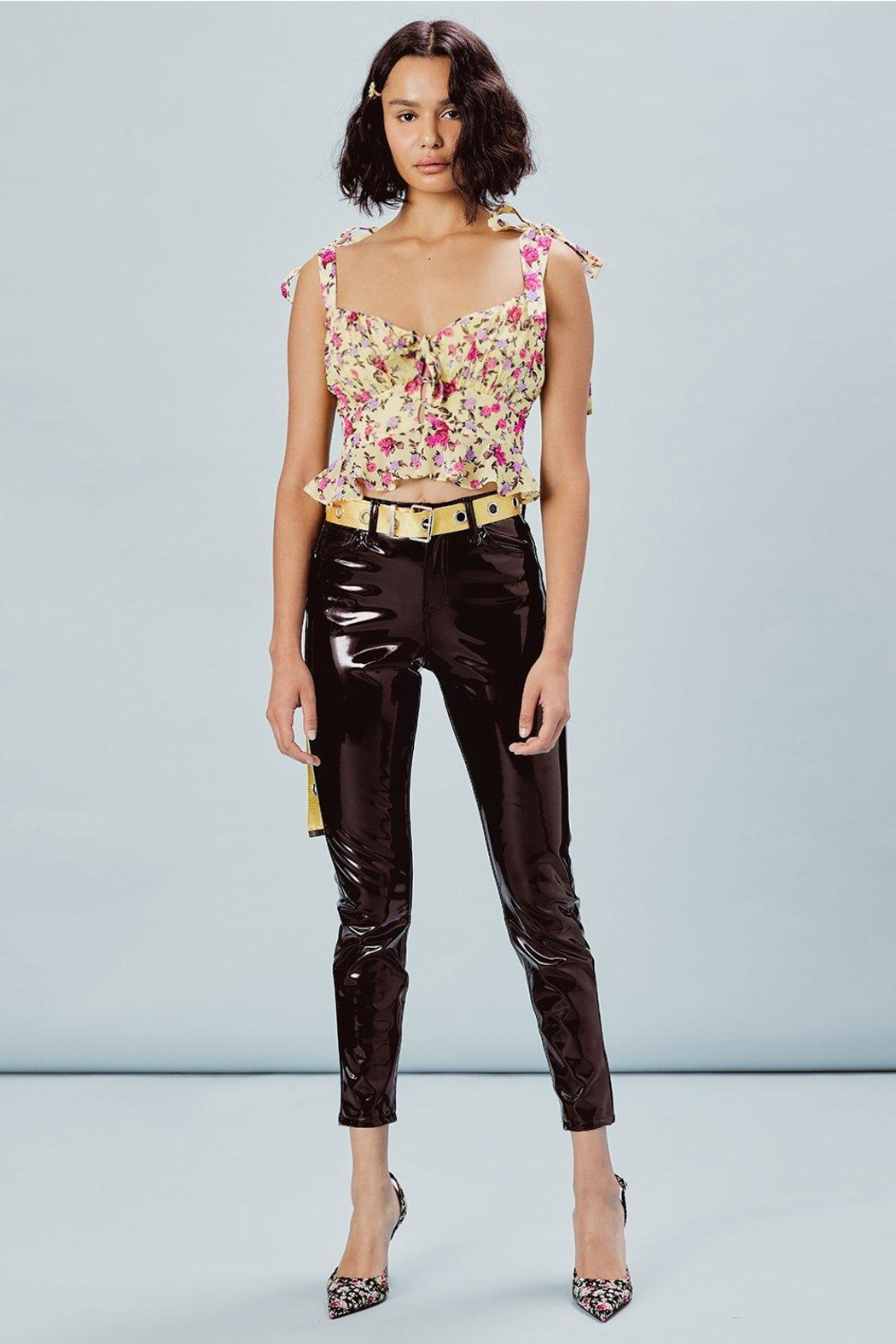 FOR LOVE & LEMONS Beaumont Top - Back Cropped Image