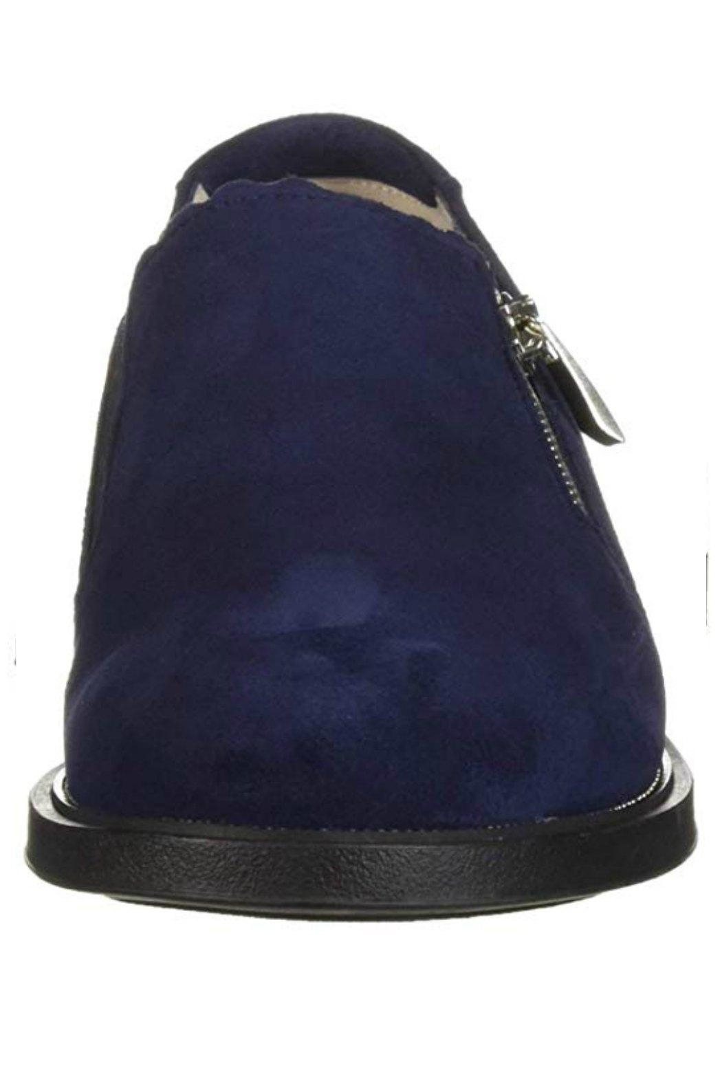 BeautiFeel Blue Suede Shoes - Front Full Image