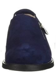 BeautiFeel Blue Suede Shoes - Front full body
