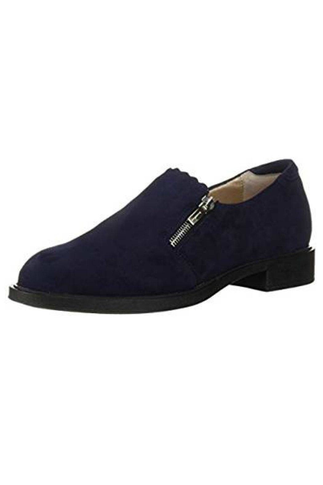 BeautiFeel Blue Suede Shoes - Front Cropped Image