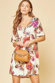 Andree by Unit Beautiful Babydoll Floral Dress - Product Mini Image