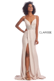 CLARISSE Beautiful Blush Gown - Product Mini Image