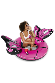 BigMouth Beautiful Butterfly River Tube - Front cropped