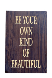Ganz Beautiful Natural Thoughts Plaque - Product Mini Image