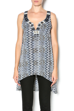 Beautiful Stories Beaded Tunic Vest - Product List Image