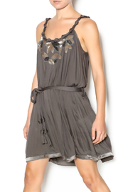 Beautiful Stories Embellished Mini Dress - Front cropped