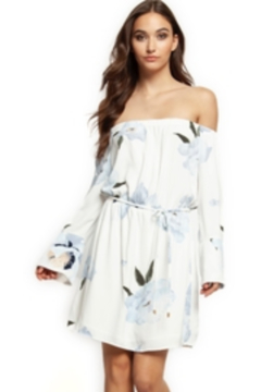 Shoptiques Product: Beautiful Waterfall Floral Dress