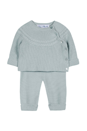 Tartine et Chocolat Beautifully Sweet Cloud Blue Long Outfit - Front full body