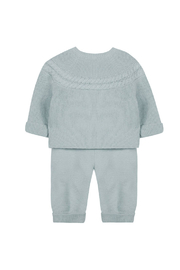 Tartine et Chocolat Beautifully Sweet Cloud Blue Long Outfit - Side cropped