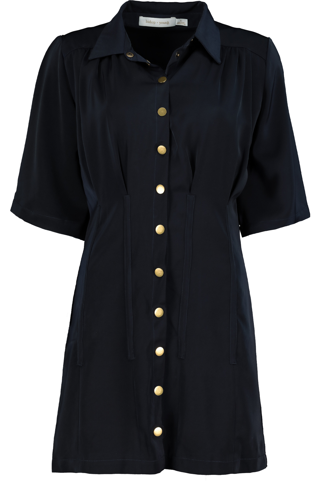 Bishop + Young Beautility Shirt Dress - Front Full Image