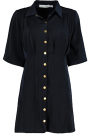 Bishop + Young Beautility Shirt Dress - Front full body