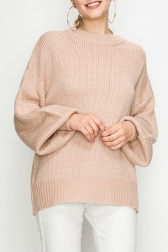 Favlux Beauty Bell-Sleeve Sweater - Product List Image