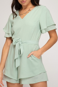 She and Sky Beauty Bliss Romper - Product List Image