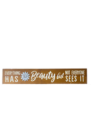 Gift Craft Beauty Quote Block - Product Mini Image