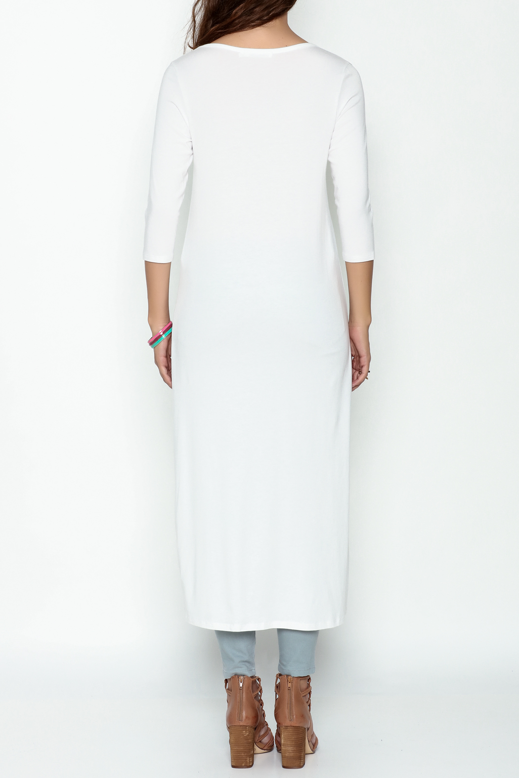 Beaux Jours The Split Tunic - Back Cropped Image