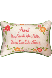Manuel woodworkers and weavers Aunt Pillow - Product Mini Image