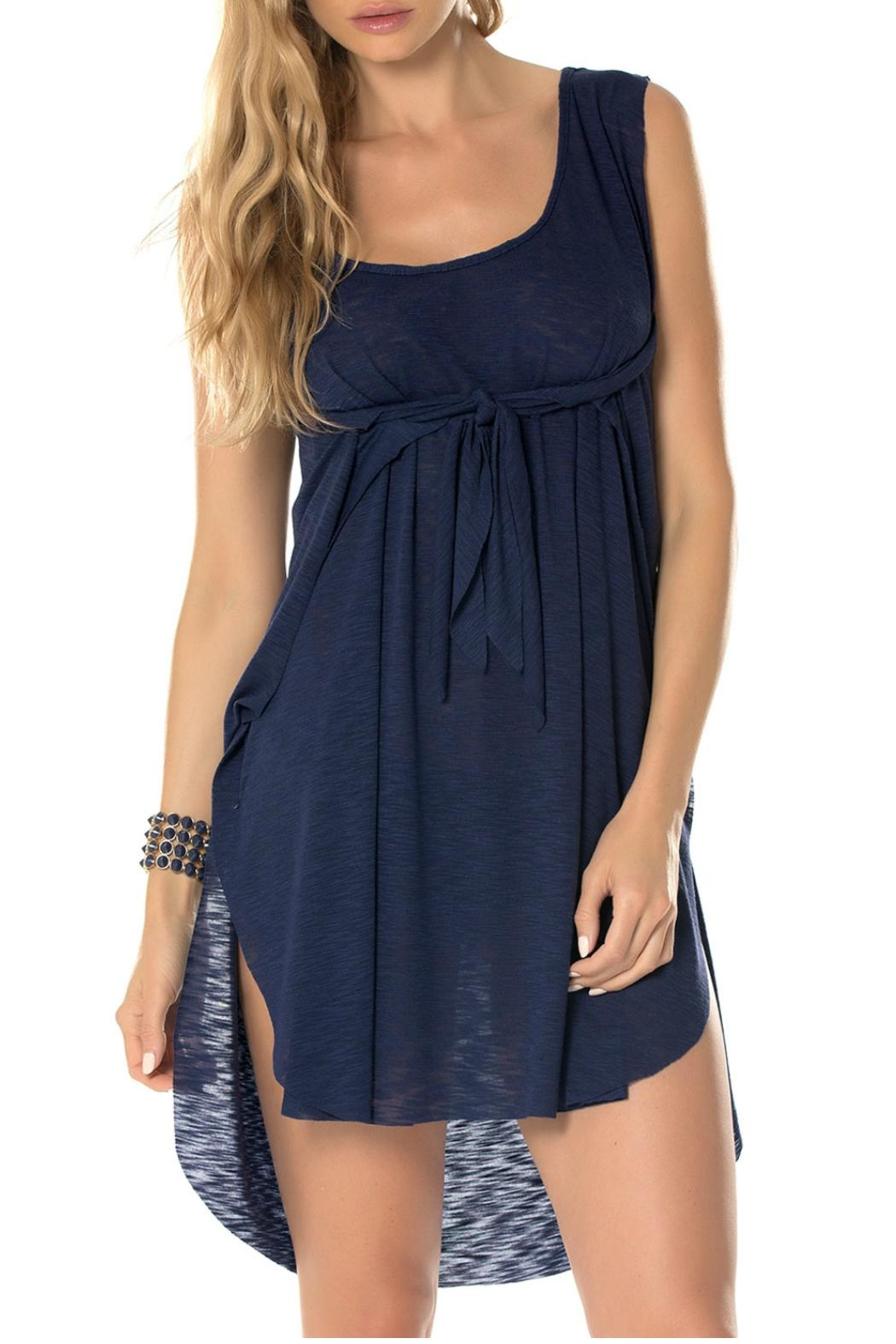 Becca Breezy Blue Coverup - Front Full Image