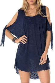 Becca Breezy Blue Coverup - Front cropped