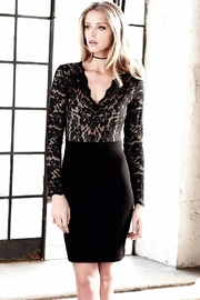 Karen Kane Becca Contrast Lace Dress - Product Mini Image