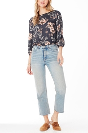 Saltwater Luxe Becca Floral Blouse - Product Mini Image