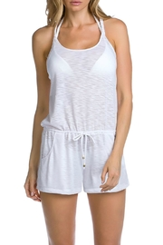 Becca T Back Romper - Front cropped
