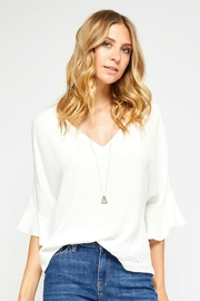 Gentle Fawn Becca v-Neck Top - Product Mini Image