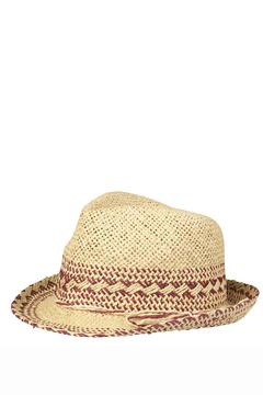 Shoptiques Product: Straw Trilby Hat