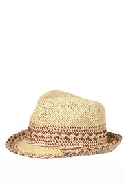 Beck Sondergaard Straw Trilby Hat - Product Mini Image