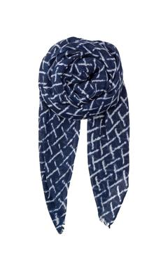 Shoptiques Product: Kennedia Navy Scarf