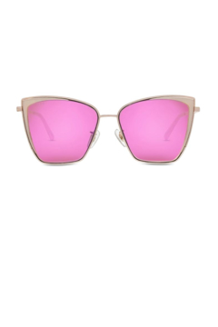 Diff Eyewear BECKY RG/PINK MIRROR - Product List Image