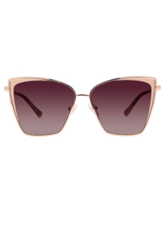 Shoptiques Product: BECKY ROSE GOLD PLUM TORTISE W/WINE LENSE