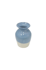 Becky Wright Pottery Flower Bud Vase - Front cropped