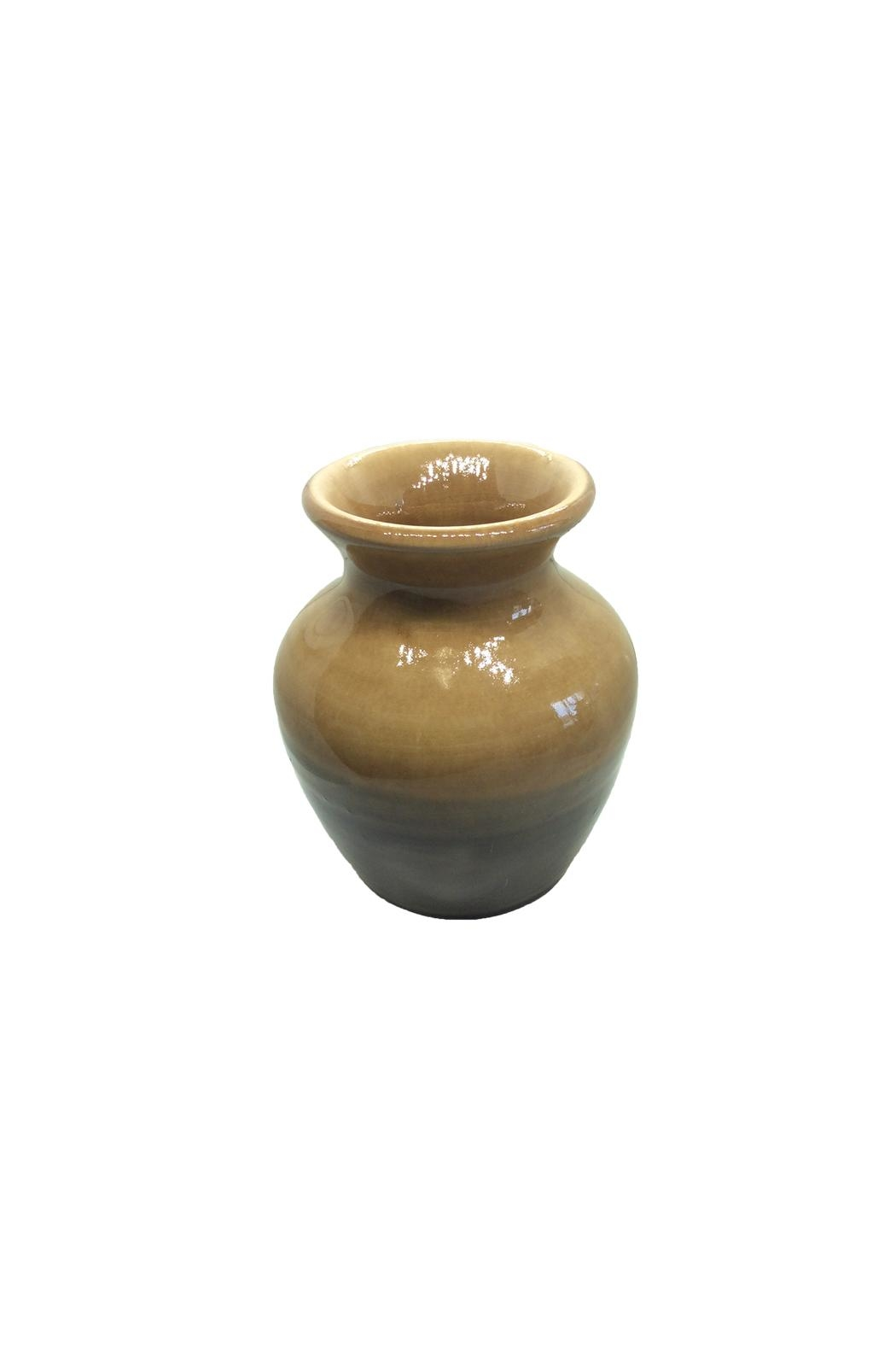 Becky Wright Pottery Flower Bud Vase - Front Cropped Image
