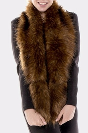 Bedford Basket Statement Fur Scarf - Product Mini Image