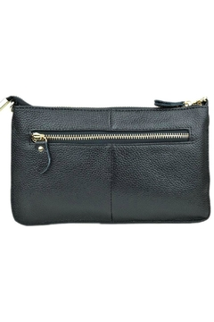 Shoptiques Product: Zip Leather Crossbody