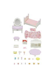 Calico Critters Bedroom And Vanity Set - Front cropped