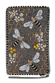 Mary Frances Bee Awesome Cellphone Bag - Front cropped